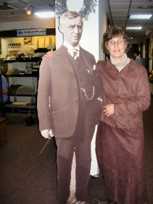 I couldn't risk this photo from years back with a cutout of the original Dr. Adolf Gundersen.