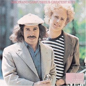 Paul Simon and Art Garfunkel in their Feelin' Groovy days