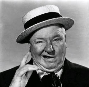 W.C. Fields - can you see a similarity?